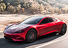 Tesla šokovala svět. Odhalila nový Roadster! Chce být nejrychlejším autem světa...
