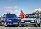Ford Escort vs. nový Ford Focus: Co se změnilo po 36 letech?