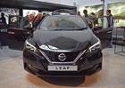 Nissan Leaf dorazil na český trh. Má lepší dojezd, chytrý tempomat a první cenovku