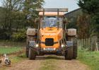 Top Gear testuje šílený traktor. Má osmiválec s výkonem 500 koní!