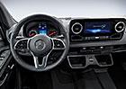 Nový Mercedes-Benz Sprinter odhaluje svůj interiér
