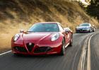 Alfa Romeo 4C nedostane manuální převodovku, není o ni zájem