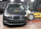 Euro NCAP 2017: Ford Grand C-Max a C-Max - Tři hvězdy pro rodinně založená dvojčata
