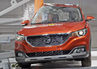 Euro NCAP 2017: MG ZS – Britsko-čínské SUV dosáhlo jen na tři hvězdy