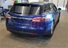 Takhle vypadá první hotová Tesla Model S kombi. Co na ní říkáte?