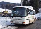 BusLine zahájil lyžařskou sezónu se svými skibusy