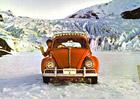 Volkswagen v šedesátých letech dobyl Antarktidu. Broukem! S minimálními úpravami...
