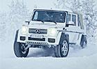 Mercedes-Maybach G 650 Landaulet: Podívejte se, jak šílené géčko řádí na sněhu!