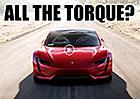 Tesla Roadster: Opravdu může mít točivý moment 10.000 N.m?