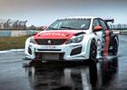 Peugeot 308TCR má 350 koní a lepší aerodynamiku. A slušnou cenu