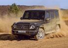 Mercedes-Benz třídy G už nemá tajemství. Odhalil design, první motor i cenu