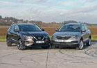 Nissan Qashqai 1.2 DIG-T vs. Škoda Karoq 1.0 TSI – Agenti písmene Q