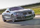 Nové BMW řady 8 se poodhaluje. Podívejte se na záběry z jeho testování!