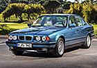 BMW řady 5 E34 (1987-1996): Třetí generace pětky měla poprvé i kombi, je jí třicet