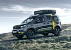 Koncept Peugeot Rifter 4x4: Do přírody ve velkém stylu!