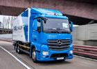 Mercedes-Benz eActros s čistě elektrickým pohonem míří k prvním zákazníkům