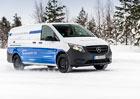 Mercedes-Benz Vans a testování elektrických dodávek na švédském sněhu a ledu