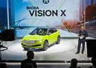 Škoda v Ženevě překvapila: Vision X představila už teď