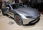 Ženeva 2018: Aston Martin V8 Vantage poprvé naživo. Parádně vypadající sporťák, ale co ten interiér?