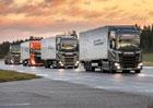 Scania a Ahola Transport pošlou na silnice kolony kamionů řízené jedním řidičem