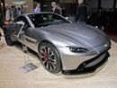 Aston Martin V8 Vantage poprvé naživo. Parádně vypadající sporťák, ale co ten interiér?