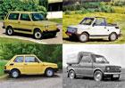 Maluch trochu jinak. Připomeňte si neznámé verze Fiatu 126p!