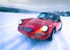 Náš čtenář si na sněhu a ledu vyzkoušel klasická Porsche!