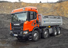 Scania XT G450: Odolný