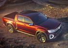 Volkswagen Atlas Tanoak dokazuje univerzálnost MQB. Je to obří pick-up s platformou Golfu!
