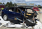 Autopilot Tesly zabíjel. Během tragické nehody Modelu X byl zapnutý