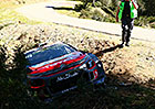 Korsická rallye, 1. etapa: Ogier s přehledem; Loeb mimo