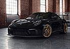 Porsche 911 GT3 RS: Manufaktura Exclusive umí ostrou 911 v černé a zlaté