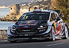 Korsická rallye, cíl: Ogierova one man show