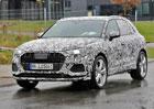 Audi SQ3 na špionážních fotkách: Tři sta koní na zcela nových základech