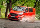 Ford Transit Custom jako sportovec inspirovaný speciály WRC