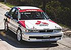 Kupte si raritní speciál Mitsubishi, je devadesátkovou vzpomínkou na úspěchy vrallye