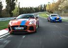 Jaguar nabízí svezení v F-Type SVR a XJR575 po Nürburgringu