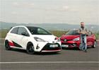 Video: Rychlé kolečko s Renaultem Clio R.S. a Toyotou Yaris GRMN