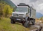 Mercedes-Benz Unimog v roli obytného vozu nejen pro dobrodruhy