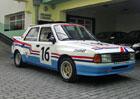 Soutěžní Škoda 130 L na prodej: Auto po renovaci ale není levné!