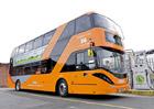 Největší flotilu patrových autobusů na bioplyn mají v Nottinghamu