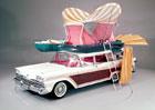 Ford před 60 lety postavil kombík pro milovníky kempování. Uměl toho opravdu hodně