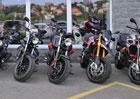 První Motoplex v České republice nabízí motocykly a skútry italských značek