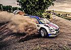 Rallye Hustopeče v cíli:  Kopeckého výhra č. 21