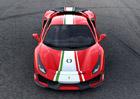 Ferrari 488 Pista v provedení Piloti Ferrari oslavuje úspěchy ze závodních tratí