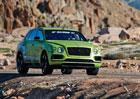 Bentley Bentayga pokořil rekord SUV na Pikes Peak a oslaví to speciální edicí