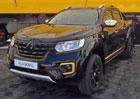 Renault představil vůz inspirovaný formulí 1. Závoďák? Ne, polepený pick-up...