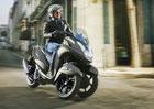 Yamaha Tricity 125 se třemi koly je stvořena pro město