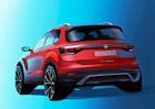 Volkswagen T-Cross: Baby SUV zWolfsburgu se poodhaluje světu