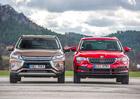 Mitsubishi Eclipse Cross 1.5 Turbo vs. Škoda Karoq 1.5 TSI – Dva pohledy na módní vlnu